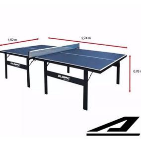 Mesa Tênis De Mesa Ping Pong Olimpic Profissional 15mm Mdp D
