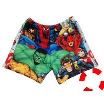 Pantalonetas Bañadores Para Niños Pj Mask Spiderman Y Más