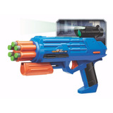 Pistola Con Luz Nocturna Y 6 Dardos U-tek