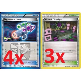Laser Hipnotóxico + Virbank City Gym - Pokemon Tcg Online