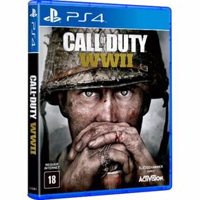 Call Of Duty Wwii Ww2 Mídia Física Ps4 - Envio Imediato