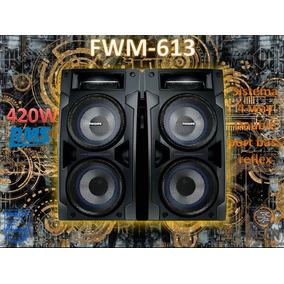 Caixa De Som Philips Fwm-613 420w Rms 3 Ohms (par) Nova