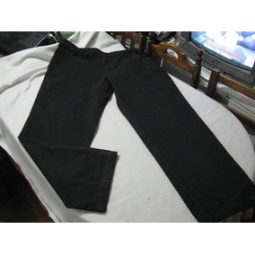 Pantalon De Vestir Color Negro Haggar Talla W42 L32 Impecabl