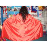 Disfraz Capa Roja Diabla Diablo Reina Rey Adulto Halloween