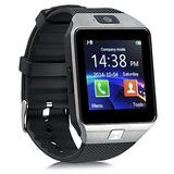 Smartwatch Relógio Bluetooth Inteligente Sd Chip S4 S5 Dz09