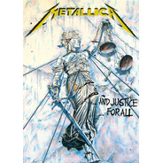 Poster Rock -- And Justice For All Banda Metallica 60x84cm