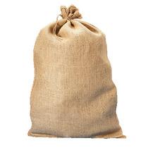 Paquete De 100 Costales De Yute Con Cinchos De 45cm X 76cm