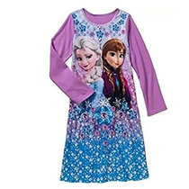 Pijama Frozen Para Niña Talla 7/8