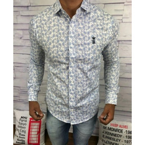 Camisa Masculina Social Armani | Lacoste | Multimarcas Top