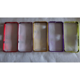 Bumper Aluminio 5 Unidades Iphone 5/5s/5g Remate. Ganga