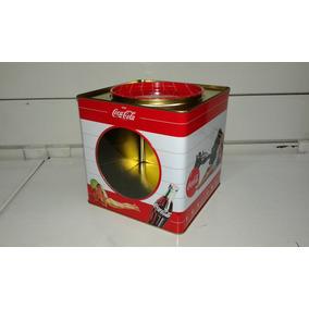 Lata Con Visor Coca-cola Coleccionable Local Berazategui