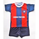 Conjunto De Cerro Porteño Camiseta Y Short Futbol Paraguay