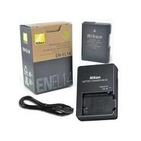 Bateria Nikon Original + Carregador D3100 D3200 D3300 D5100