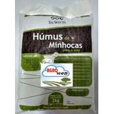 Adubo Húmus De Minhoca 2kg Kit 5 Pct Máximo 2 Kit Por Compra