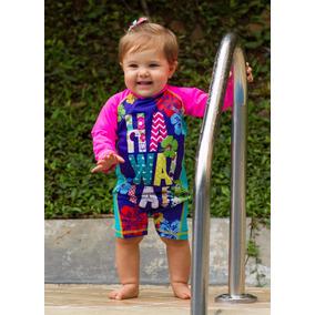 Vestido De Baño Bebe Con Proteccion Solar Ref 4101