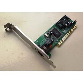 Placa Pci Para Rede Lan 10/100mbps Ethernet