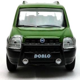 Miniatura Carros Do Brasil Fiat Doblo Adventure