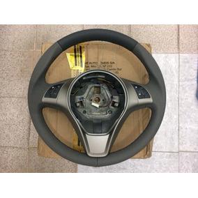 Volante Couro C/ Controle De Som Fiat Grand Siena 100206408