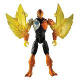Figura Max Steel La Fiera Aguila Mattel 30 Cm