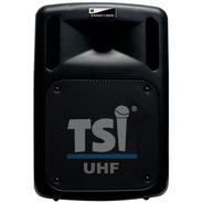 Caixa Portátil Fal 10 Pol 100w Usb/bluetooth/bateria/2 Mics