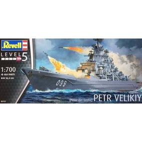 Barco Revell P/armar Petr Velikiy 1/700 Kit 5151