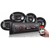 Autoradio Bluetooth, Pantalla Lcd, Mp3, Usb, Sd, Auxiliar