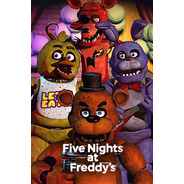 Impresión Foto - Poster Five Nights At Freddy's 60 X 90 Cm