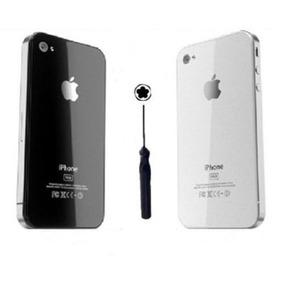 Tampa Vidro Traseira Iphone 4 4s + Chave Ferramenta P/ Troca