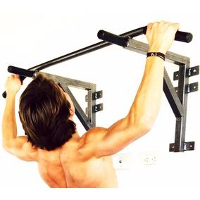 Barra Para Dominadas De Espalda Bicep Uso Rudo Gym