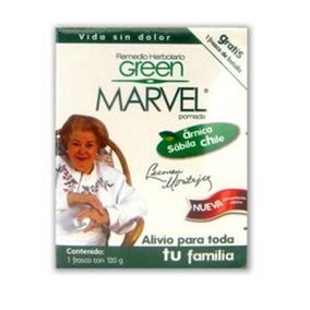 Pomada Green Marvel