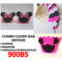 Combo Fiesta De Mickey Mouse Y Minnie Mouse