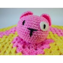 Manta De Apego Oso Amigurumi Crochet