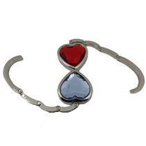 Suporte Em Metal Ganjo Pendurar Bolsas Pedra Forma Coração
