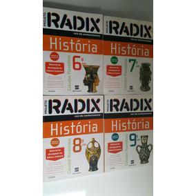 Coleção Livros Projeto Radix - História (professor)