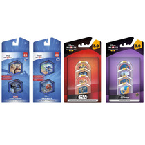 Paquete 4 Sets Disney Infinity 12 Discos Xbox One Ps4 Wii