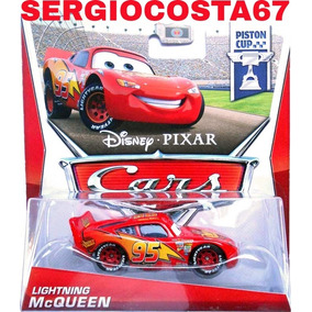 Disney Cars 1 Lightning Mcqueen Relâmpago +300 Md Fret Baixo