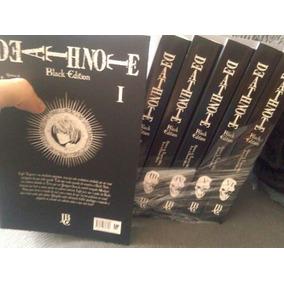Death Note Black Edition Coleção Completa Jbc Mangá Novo