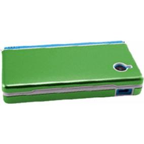 Funda De Aluminio Nintendo Dsi + 2 Stylus Verde Claro Envio