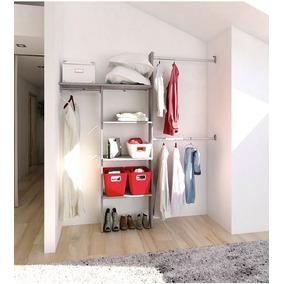 Closet Practico 190 Cm Gris Touch Playcon