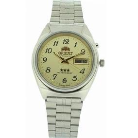 Relógio Orient Automático Masculino Mostrador Amarelo . R