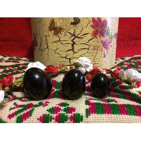 Set 3 Huevos De Obsidiana Kegel