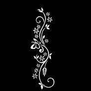 Adesivo De Parede - Borboleta Flohas Flores 60x18cm