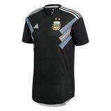 Camiseta Argentina Suplente Negra 2018 Climachill Original