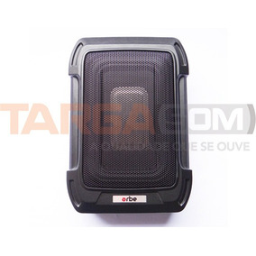 Subwoofer Caixa Amplificada Slim Orbe Osw-9sq 6x8 350w