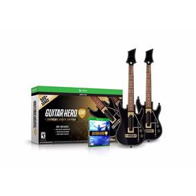 Guitar Hero Live - Nuevo - 2 Guitarras (xbox One)