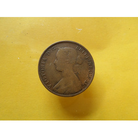 Moneda Antigua Centavo 1861 New Brunswick