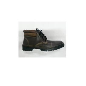 Botina Vaqueta Relax Bico - Sapatos no Mercado Livre Brasil 67f0430564