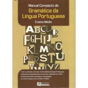 Manual Compacto De Gramática Da Língua Portuguesa - Médio