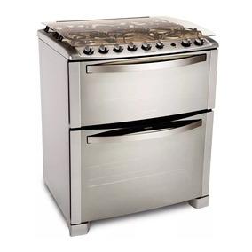 Cocina A Gas Doble Horno Electrolux 76dtx