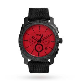 59c7952447c5 Reloj Fossil Hombre Modelo Viajero Retro Rojo Envío Gratis - Reloj ...